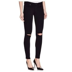 PAIGE Verdugo Ankle Skinny Jeans - Ripped Knees